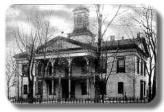 Vandalia Statehouse in early 1900's