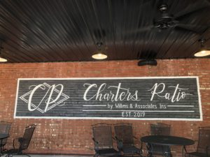 Corey Evitts live at Charters Patio @ Charters Patio