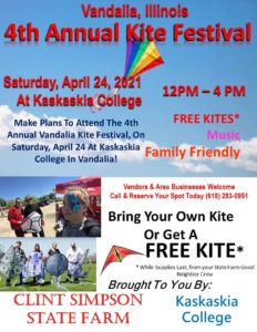 4th Annual Kite Festival @ Kaskaskia College